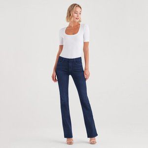 7 for All Mankind Blue Bootcut Lexie Jeans | 28